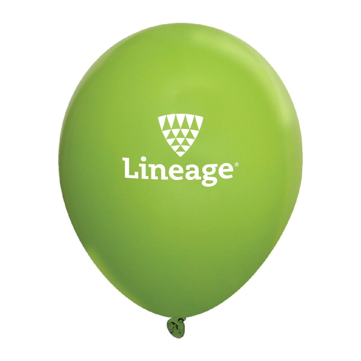 Fashion Opaque Latex Balloons - Lime Green (Pack of 10)