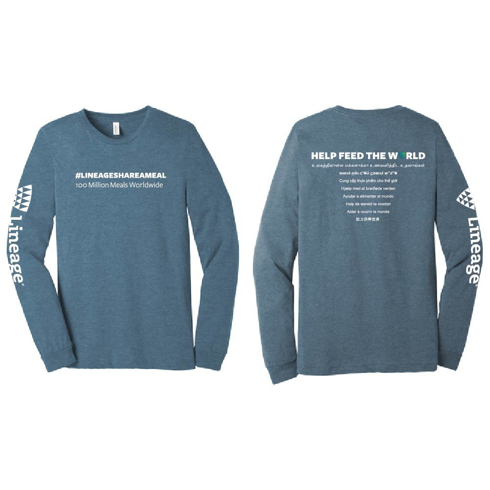 Share A Meal Long Sleeve T-Shirt