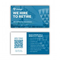 Driver Recruiting Cards (Pack of 250)
