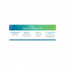 COVID-19 Safety Principles Banner