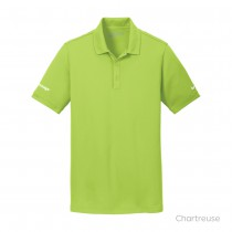 Nike Golf® Mens Dri-FIT Solid Icon Pique Modern Fit Polo
