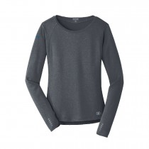 Ladies Long Sleeve Pulse Crew