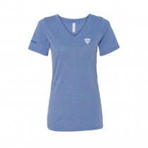 Bella + Canvas Ladies Relaxed Jersey V-Neck T-Shirt