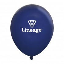 Fashion Opaque Latex Balloons - Navy (Pack of 10)