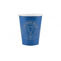 Colored Paper Cup- Silver (Pack of 20)