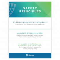 Safety Principles Poster