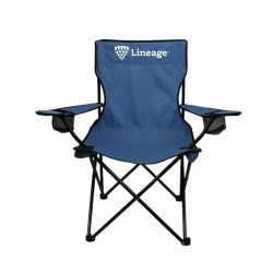 Folding Captain's Chair with Carry Bag