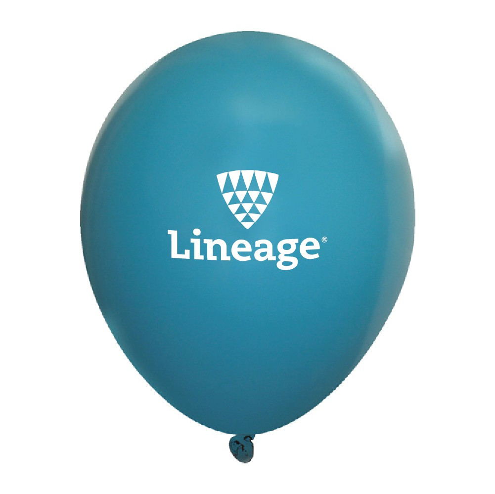 Fashion Opaque Latex Balloons - Teal (Pack of 10)