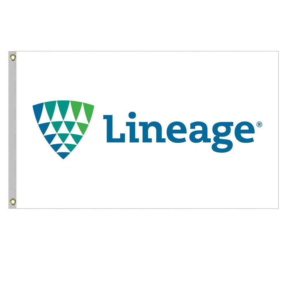 6' x 10' Lineage Flag