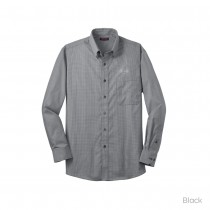 Red House® Men's Mini-Check Button-Down Shirt
