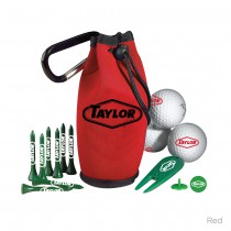 Golf Kit In Carabiner Bag