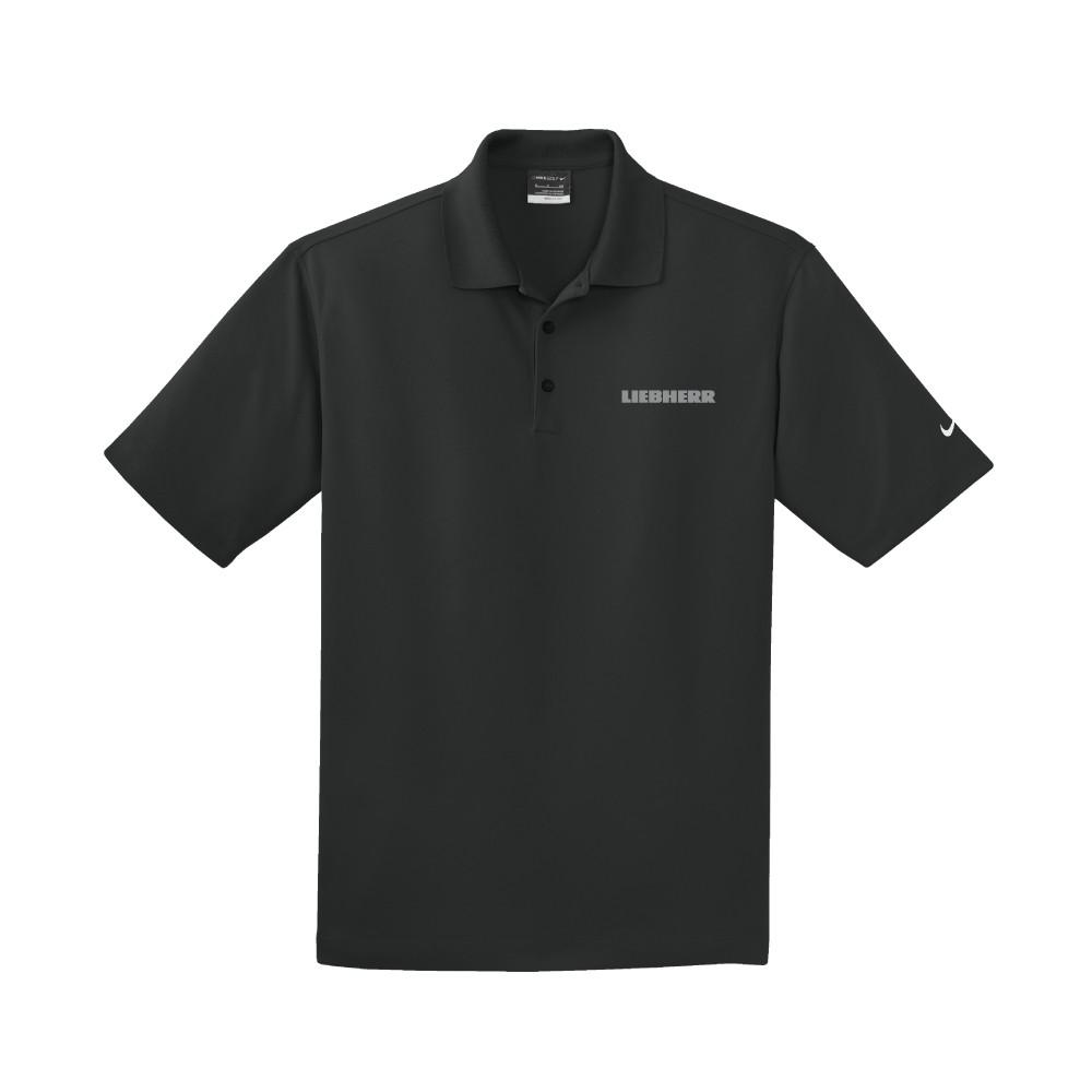 Nike Golf Dri-FIT Micro Pique Polo (BLACK)