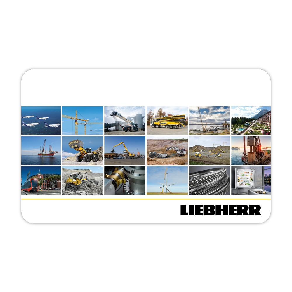 Liebherr Microfiber Mouse Pad & Cleaning Cloth