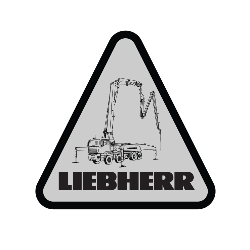 Liebherr Concrete Technology Decal (Pack of 10)