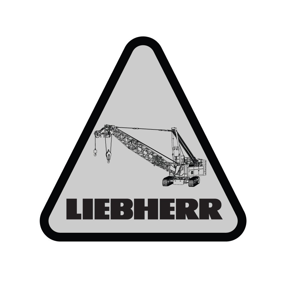 Liebherr Duty Cycle Crane Decal (Pack of 10)