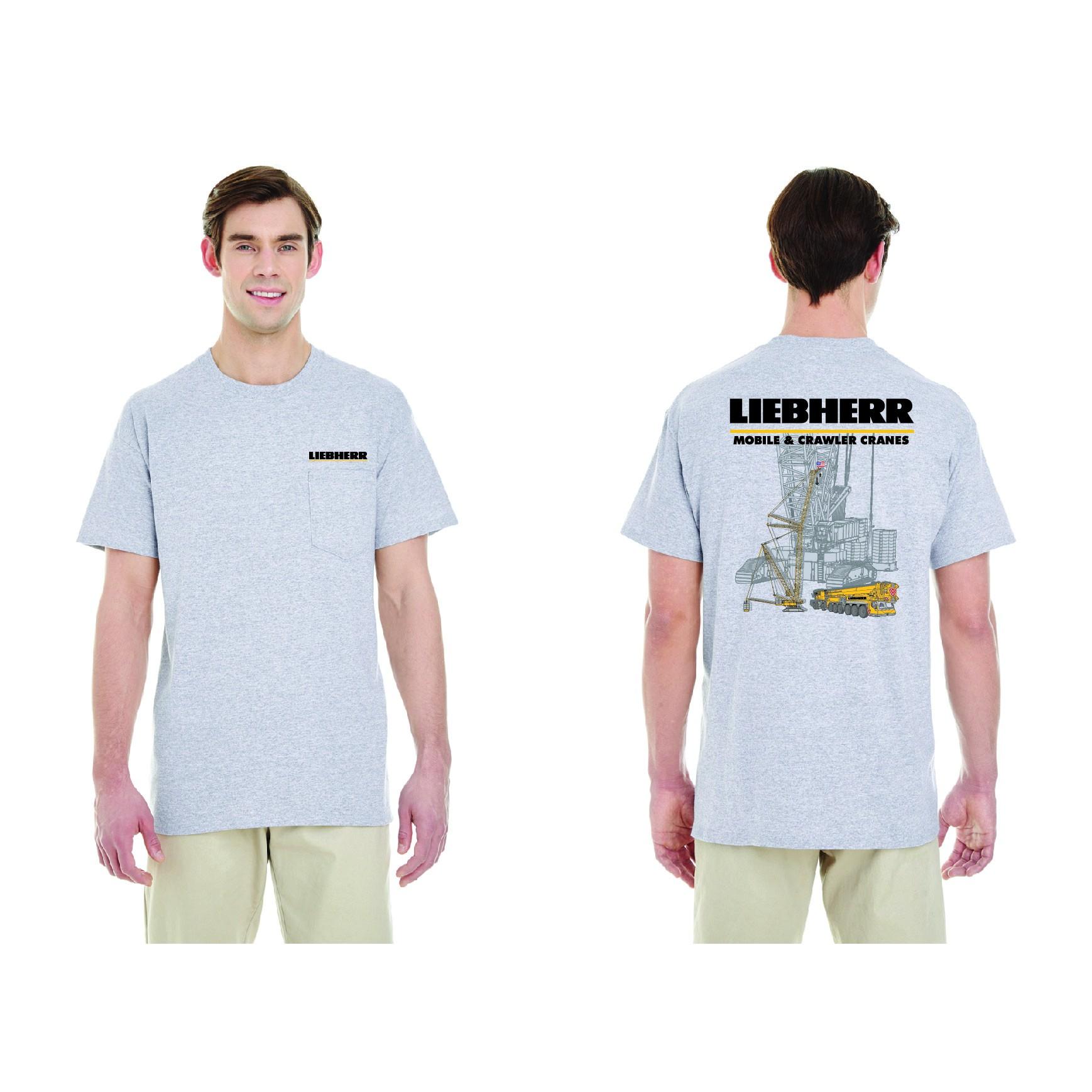 Liebherr Mobile & Crawler Cranes T-shirt