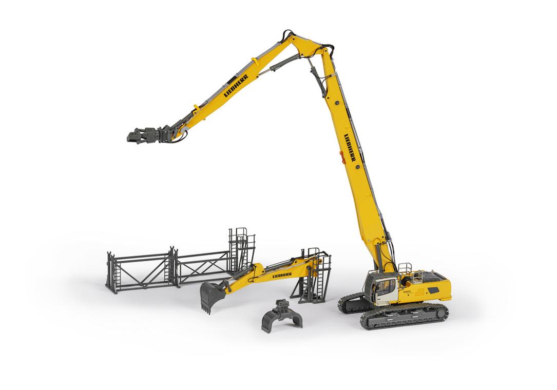 Liebherr R 960 Demolition Crawler Excavator