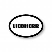 Liebherr Hard Hat Decal