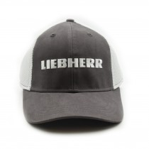 Liebherr Brushed Cotton Twill Cap with Mesh Back