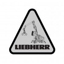 Liebherr Construction LH 30 Decal (Pack of 10)