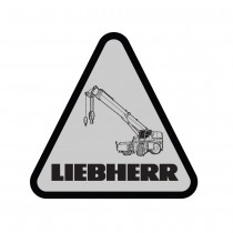 Liebherr Rough Terrain Crane Decal (Pack of 10)