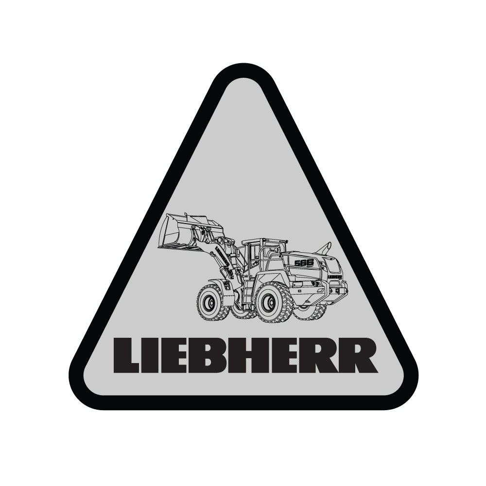 Liebherr Construction L566 Decal (Pack of 10)