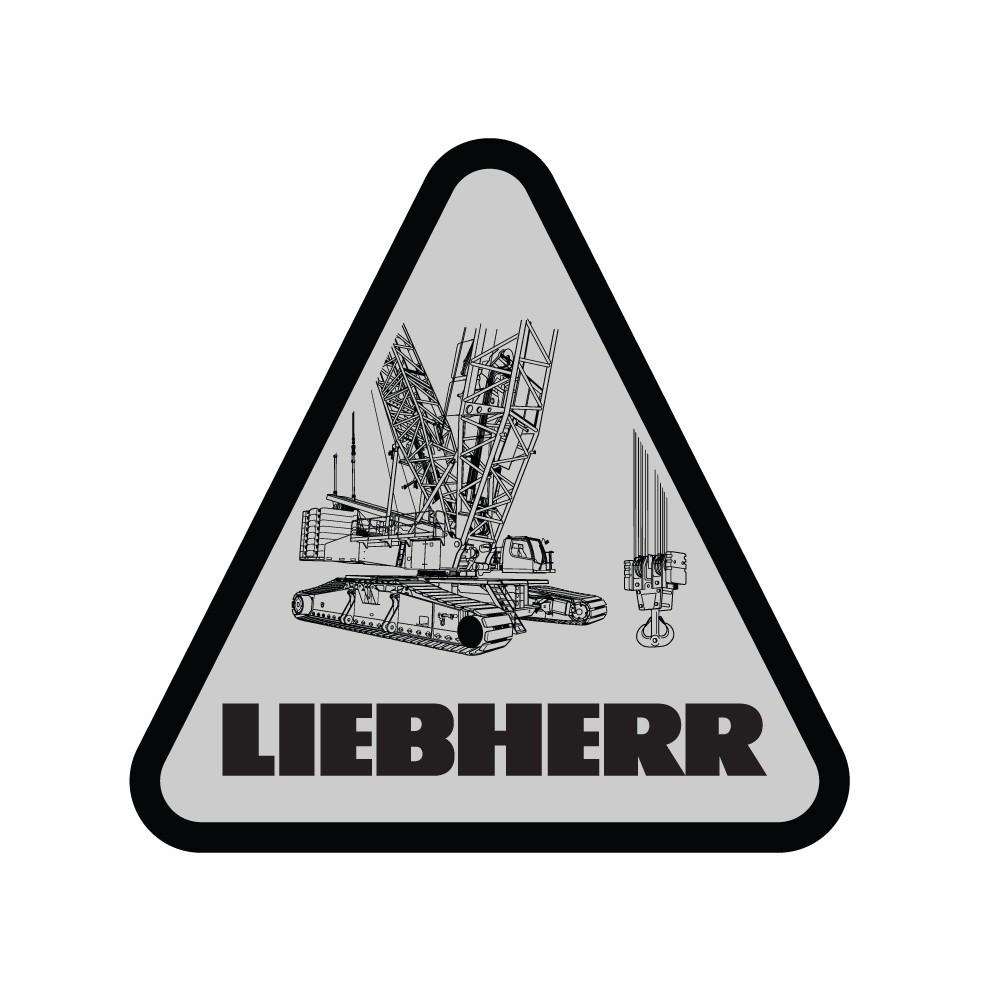 Liebherr Crawler Crane Decal (Pack of 10)