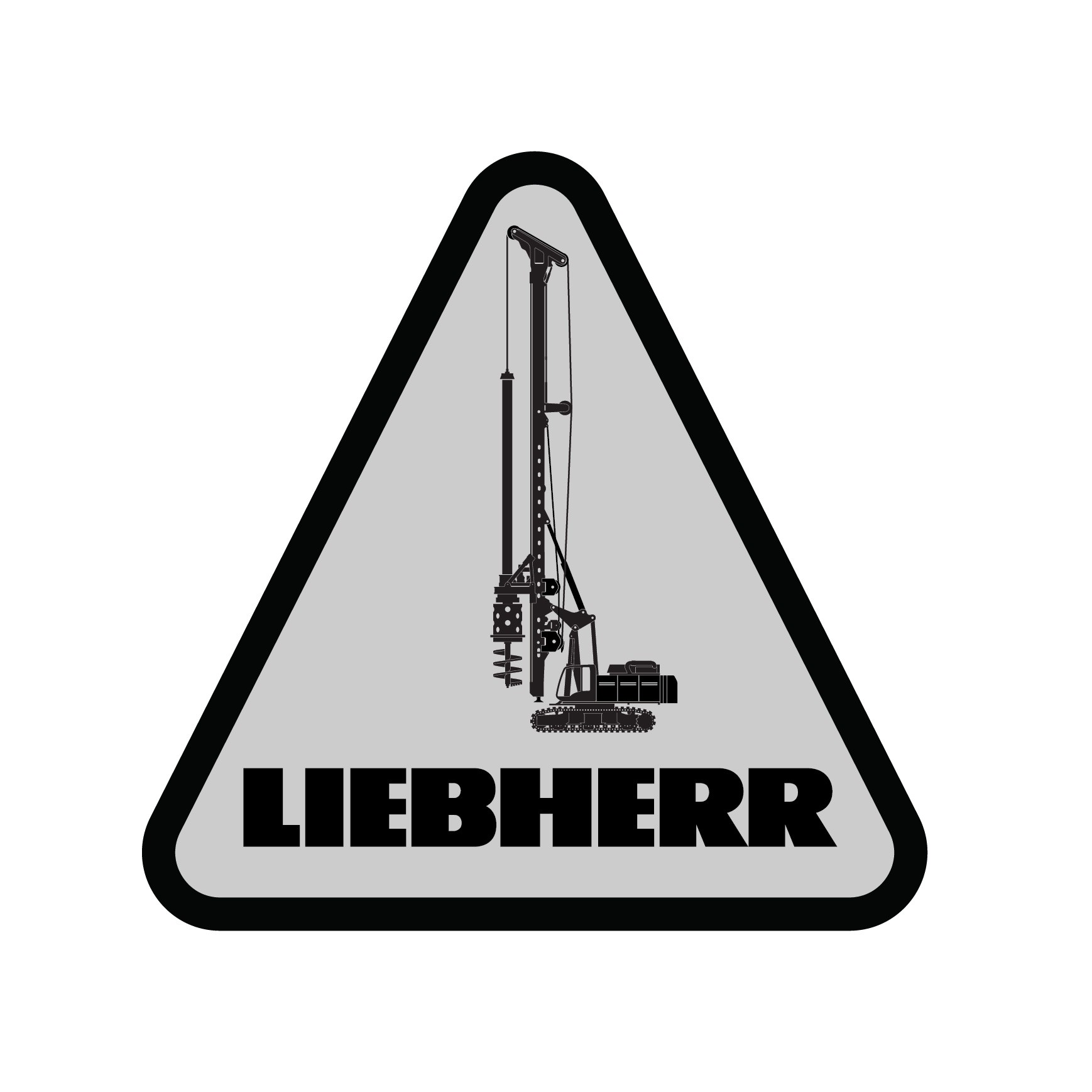 Liebherr Foundation Equipment Decal (Pack of 10)